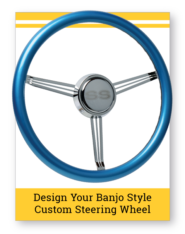 Banjo Style Custom Steering Wheel Builder