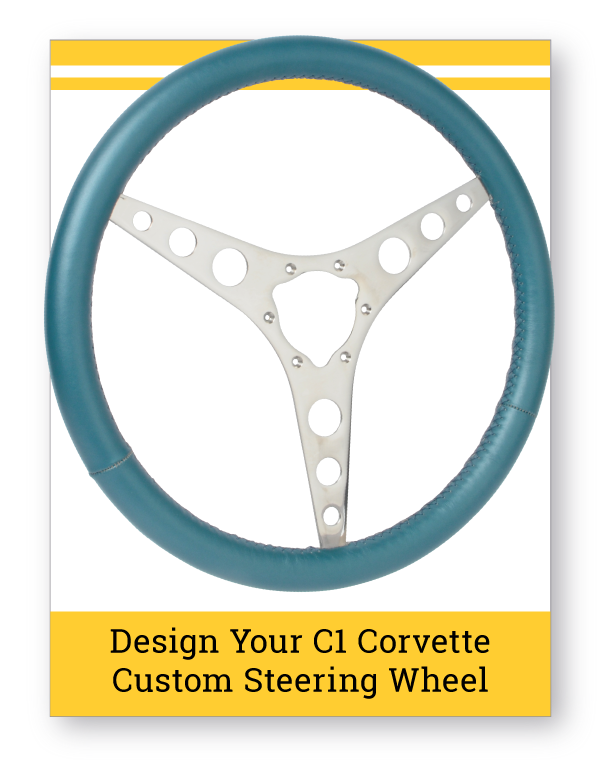 C1 Corvette Custom Steering Wheel Builder
