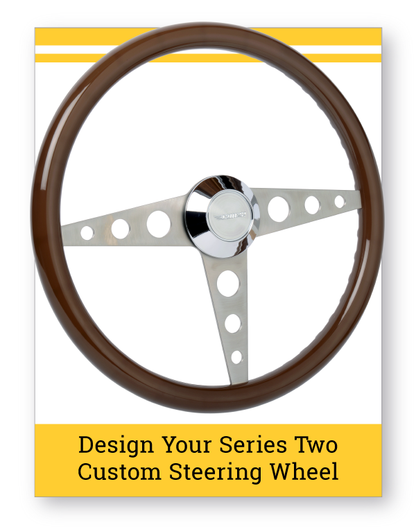 Series Two Custom Steering Wheel Builder